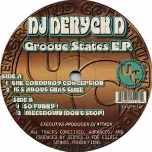 DJ Deryck D - Groove States E.P. download